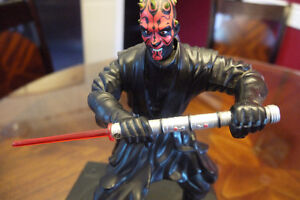 STAR WARS DARTH MAUL Talking and moving Piggy Bank Windsor Region Ontario image 2