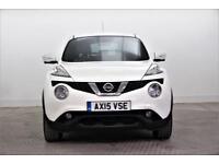 2015 Nissan Juke TEKNA DCI Diesel white Manual