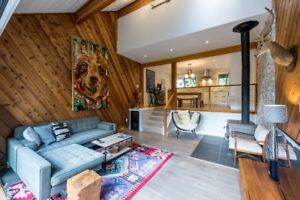 Renovated chalet on large 13000+ sq. ft lot!