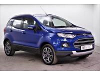 2016 Ford EcoSport TITANIUM TDCI Diesel blue Manual