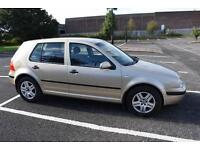 Volkswagen Golf 1.4 2003MY Match with full service history