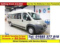 2009 - 09 - CITROEN RELAY 35 2.2HDI 120PS XLWB 11 SEAT DISABLED ACCESS MINIBUS