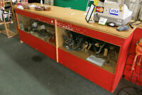 Check Out Display Counter