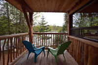 Waterfront Log Cabin available this Thanksgiving weekend $400