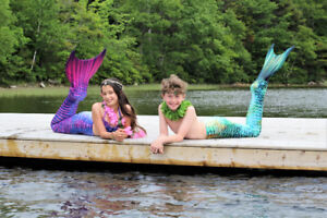 Kid's Mermaid Makeover Photoshoots