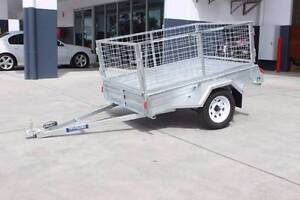 Galvanized Box Trailer (7*4) Coopers Plains Brisbane South West Preview