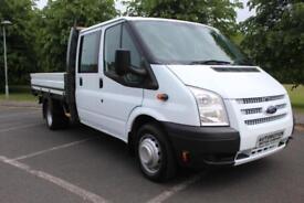 2013 Ford Transit 2.2TDCi ( 125PS ) ( EU5 ) ( RWD ) 350EF Double Cab C 350 LWB