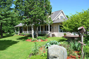 100 Acre Horse farm in Elgin with 1834 stone house