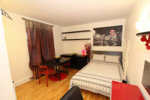 Fully Furnished Studio meublé Lease Transfer May 1st