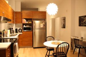 1br + den! Large 3 1/2 Loft style Condo for rent - Feb 1st