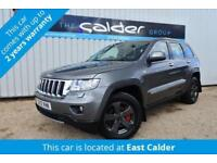 2012 12 JEEP GRAND CHEROKEE 3.0 V6 CRD LIMITED 5D AUTO 237 BHP DIESEL