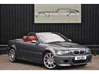 BMW E46 M3 3.2 SMG II Convertible * Space Grey + Imola Red + Harmon Kardon*