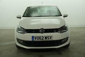 2012 Volkswagen Polo MATCH Petrol white Manual