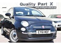 2011 Fiat 500 1.2 Lounge Dualogic 3dr (start/stop)
