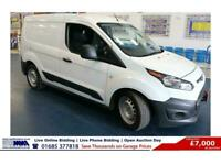 2017 - 17 - FORD TRANSIT CONNECT T220 1.5TDCI 100PS SWB VAN (GUIDE PRICE)