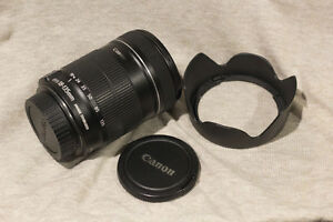 Canon EF-S 18-135mm f/3.5-5.6 IS - DSLR camera lens