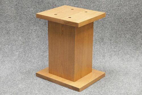 Custom Speaker Stand - SS-N - Mini Desktop to 12 18 24 30 42 + inch - Hard Wood