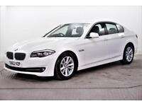 2012 BMW 5 Series 520D SE Diesel white Automatic