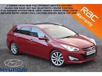 2012 Hyundai i40 1.7CRDi Premium-LEATHER-SAT NAV-PAN ROOF-CRUISE-BLUETOOTH-