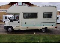 CI Riviera 4 Berth Motorhome for sale