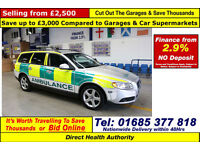 2009 - 59 - VOLVO V70 S 2.4 D5 RAPID RESPONSE AMBULANCE 5 DOOR ESTATE