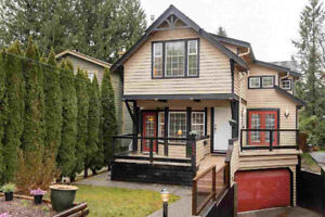 North Vancouver Canyon Heights 4 Bed 3.5 Bath Unfurnished House