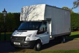 Ford Transit Luton T350 2.2 tdci 125 bhp with tail lift