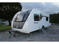 Sterling Eccles Sport 514 Lightweight Fixed Bed 4 Berth Caravan Inc Mover 2014