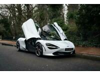 2018 McLaren 720S Coupe V8 2dr SSG Auto Petrol white Automatic