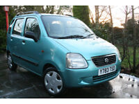 Suzuki **WAGON R+** 1.3 GL 5 Door ONLY 57k miles from new ++TRADE CLEARANCE++