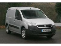 2016 Peugeot Partner 1.6 BlueHDi 75 Professional L1 651 Panel Van 5 door Pane...