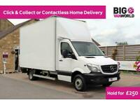 2015 MERCEDES SPRINTER 516 CDI 163 LWB HIGH CAPACITY LUTON WITH TAIL LIFT (1476