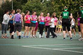 Social Netball Team - Starting Soon