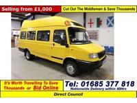 2005 - 05 - LDV 400 CONVOY 2.4TD 17 SEAT MINIBUS (GUIDE PRICE)