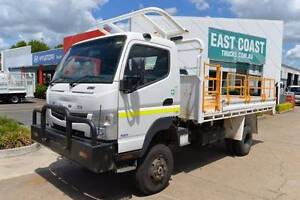 MITSUBISHI CANTER ** 4X4 ** TRAY DROPSIDE ** #5028 Archerfield Brisbane South West Preview
