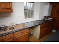 3 bedroom flat in the town centre. Convenient for all services.