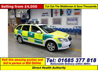 2010 SKODA OCTAVIA ELEGANCE 2.0TDI RESPONSE VEHICLE 5 DOOR ESTATE (GUIDE PRICE)