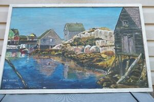 Peggy's Cove Painting London Ontario image 1