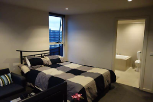 Large Furnished Room with Private Bathroom.10 minCBD.Tram at Door North Melbourne Melbourne City Preview