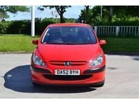 2002 Peugeot 307 1.6 16v LX 5dr