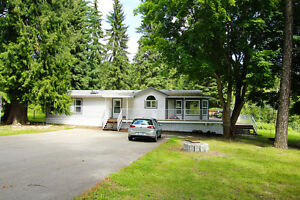 Salmon Arm - Modular Home on 31 Acres