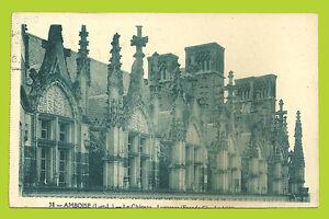 CPA-45- AMBOISE - Le Château - France - État : Occasion: Objet ayant été utilisé. Consulter la description du vendeur pour avoir plus de détails sur les éventuelles imperfections. ... - France