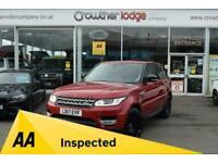 2017 Land Rover Range Rover Sport 2.0 SD4 HSE 5d 238 BHP Estate Diesel Automatic