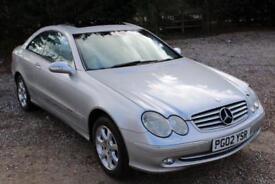 Mercedes-Benz CLK 2.6 CLK240 Elegance Coupe 2dr Petrol Automatic