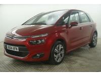 2014 Citroen C4 Picasso E-HDI AIRDREAM EXCLUSIVE ETG6 Diesel red Semi Auto