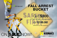 Fall arrest bucket - now only $149.99!