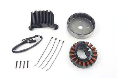 Alternator Charging System Kit 50 Amp for FL 2004-05 Harley Davidson motorcycles