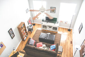 1 MONTH FREE! large 1 bedroom loft on King William, $1400