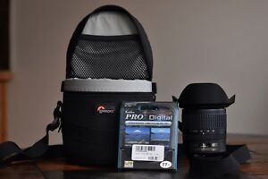 Selling ultra-wide-angle zoom lens for DX-format cameras