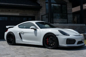 Lovingly damaged (and repaired) 2016 PORSCHE Cayman GT4